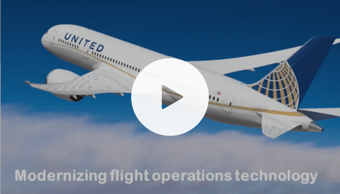 Modernizing flight operations technology at United Airlines