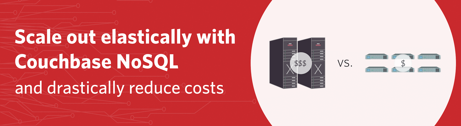 Scale out elastically with Couchbase NoSQL and drastically reduce cost