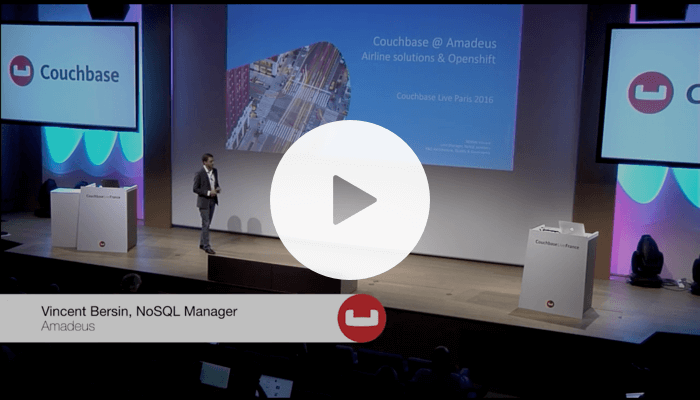 Amadeus at Couchbase Live France 2016
