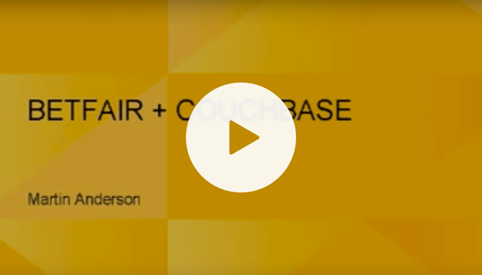 Betfair + Couchbase