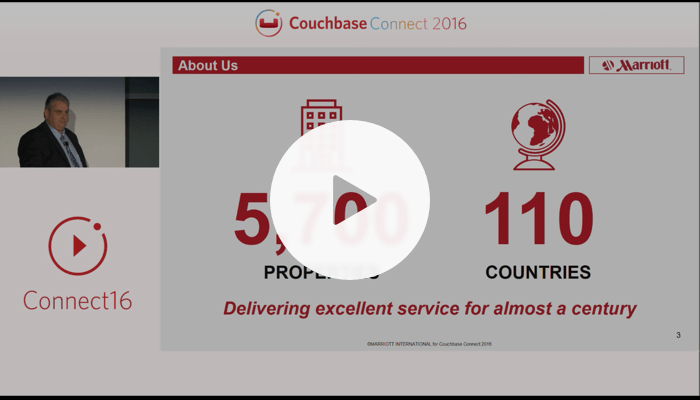 Continuing the evolution for the Digital Economy at Marriott – Couchbase Connect 2016