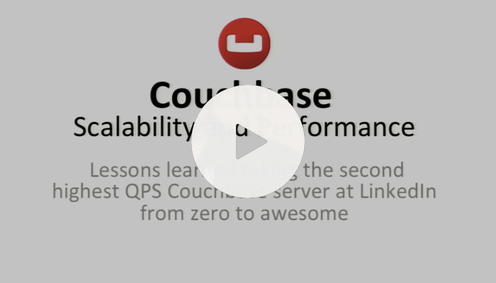 Couchbase Server Scalability and Performance at LinkedIn: Couchbase Connect 2015