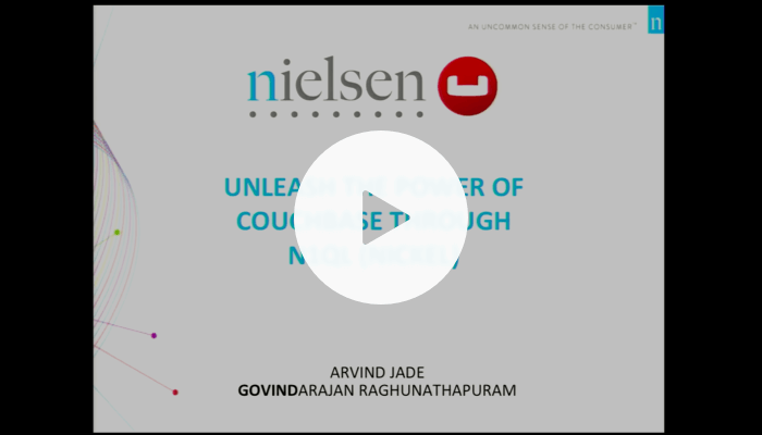 Interactive Data Analytics with Couchbase N1QL at Nielsen