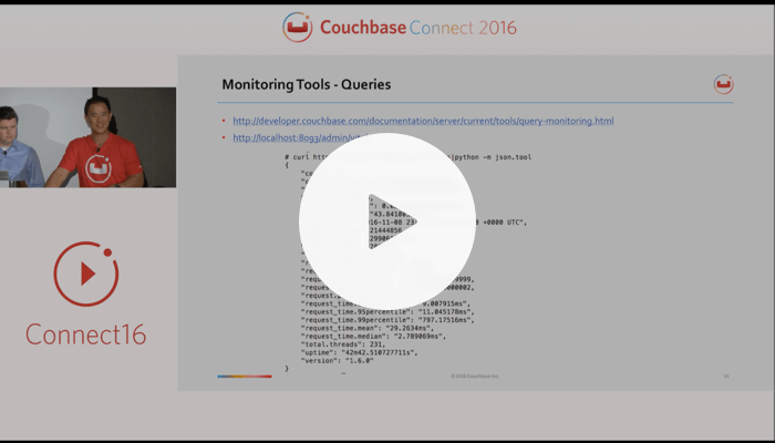 LinkedIn: Monitoring production deployments: the tools – Couchbase Connect 2016