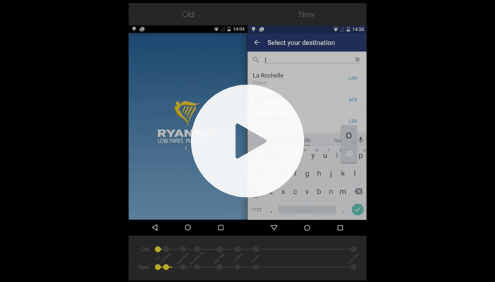 Ryanair Runs on Couchbase Mobile