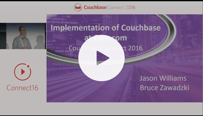 Taking the first step: our journey to NoSQL at Cars.com – Couchbase Connect 2016
